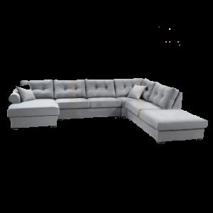 Hoekbank van meubeloutlet Nunspeet