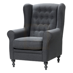 Fauteuil Front grey