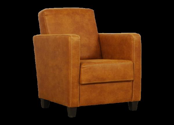 Bruine fauteuil Lima Nunspeet