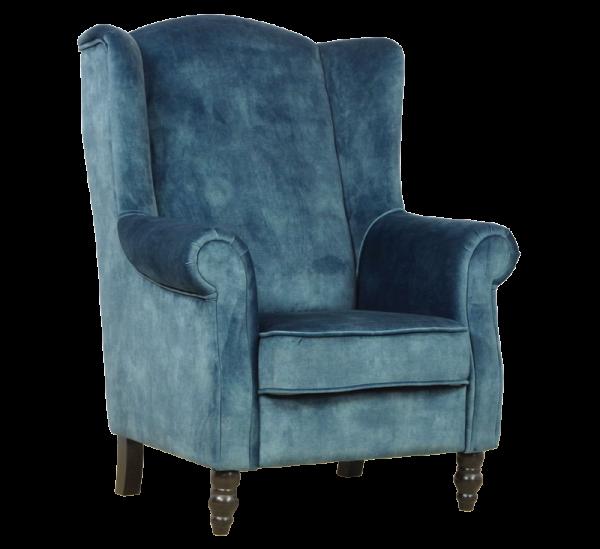 Chique houten fauteuil Nero